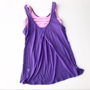 IVIVVA Built In Bra Loose Workout Tank ff7
